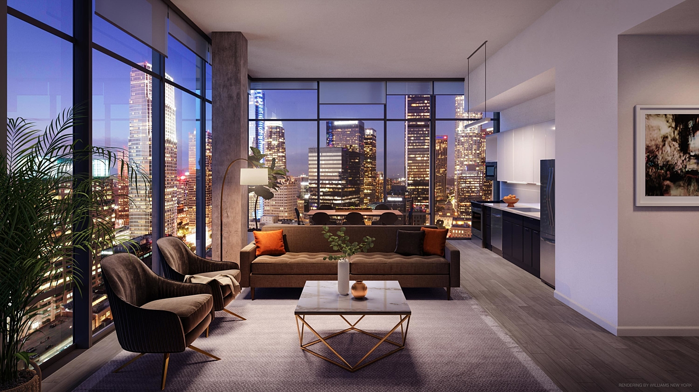 New Downtown LA Apartments Feature Loft-Like Ceilings